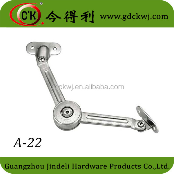 Furniture flap stay lift up door hardware