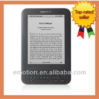 Amazon Kindle Keyboard WiFi + Worldwide 3G Graphite Brand New Device e-reader Wholesales Electronic Books reader Kindle