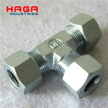 High Pressure Carbon Steel DIN 2353 Hydraulic Hose Fittings and adapter