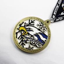 Manufacture custom made zinc alloy medal