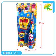 Safety toy mini baseball bat with glove