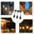 48FT Outdoor String Lights Set S14 LED Edison Bulbs included Christmas Waterproof Connectable Luminar Outdoor String Lights