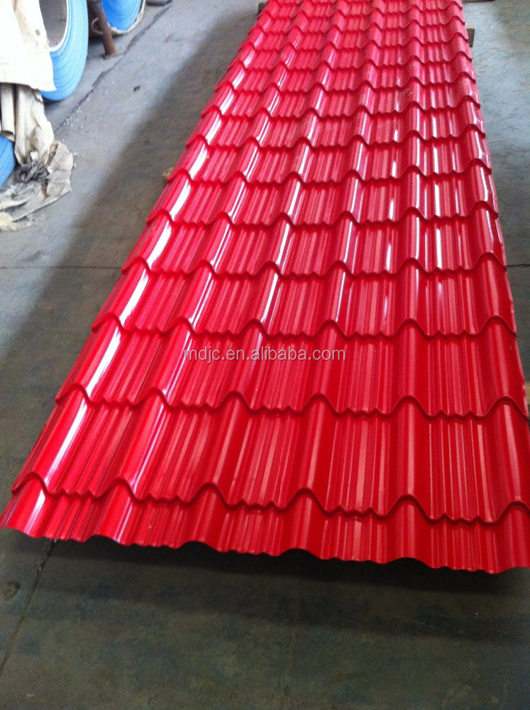 2016 Most hostest Glazed Roofing Sheet For Building,construction,prefab house