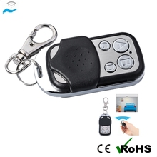 garage door remote control 433mhz face to face copy 4keys remote control switches rolling code