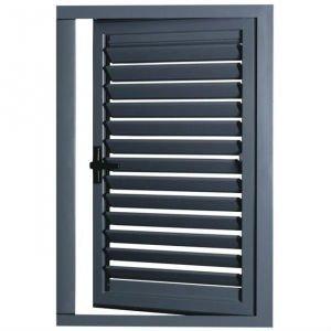 aluminum exterior louvered door view louvre door mingqi