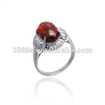 New fashion garnet wedding rings buy garnet wedding for Garnet wedding ring meaning