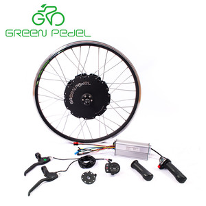 Greenpedel 48V 1000W vehicle motor e-bike conversion kit with tube lithium battery