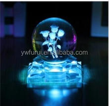 Hot Sale Home Decoration Transparent K9 material 100mm Crystal Ball