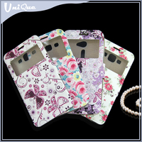 Custom print flower leather phone case cover for samsung galaxy e7 for blu win hd for gionee elife e6
