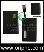credit card shape usb flash driver download /USB flash memory