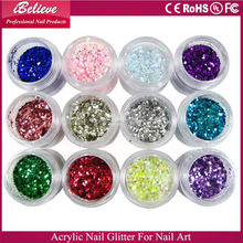 2016 acrylic color powder for nails for nail art