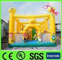 kid's playground giant inflatable bouncer / inflatable bouncer house for sale