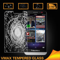 Mirror tempered glass screen protector for blackberry q10 z10 z30 cheap price