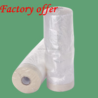 New arrivel best seller PE sticky paintable pretaped plastic masking film/masking film for packing and surface protected