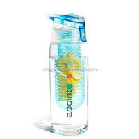 High quality Infuser Water Bottle, plastic water pitcher with infuser