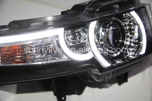 Vintage Automobile Front Center With One Headlight : For toyota fj cruiser led headlight plus front grille yz