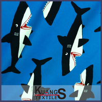 wholesale shark print fabric
