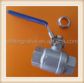 oil and gas,304/316 1 inch 2PC Stainless Steel Ball Valve