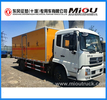 Dongfeng 4x2 cargo truck cargo box dimension 6100*2360*1980