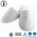 User Friendly White Color Cotton Fabric Hotel Slippers