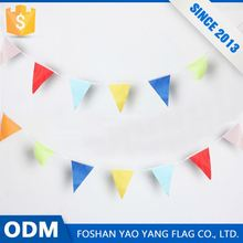 Custom Printing Logo Difference Kind Of Party Decorations Bunting Flag
