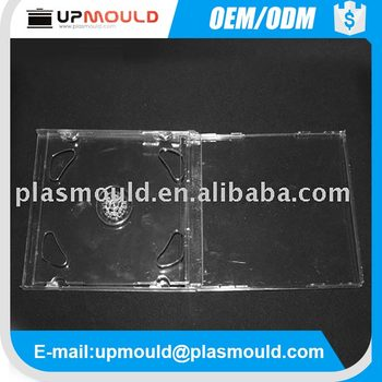 Plastic injection mold for CD/DVD case cd case plastic injection molding