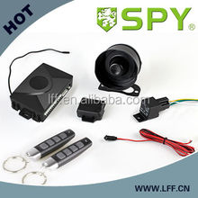 SPY hotselling one way car alarm, viper car alarm system, with arm & oil cut off, window rolling up function