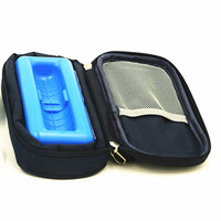 China Supplier 17*7.9*4cm Portable neoprene diabetes insulin pen case with ice gel pack