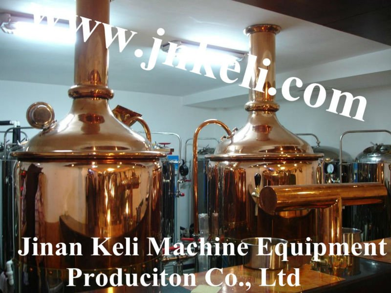 Hotel beer equipment of red copper mash tun300L,beer brewery equipment