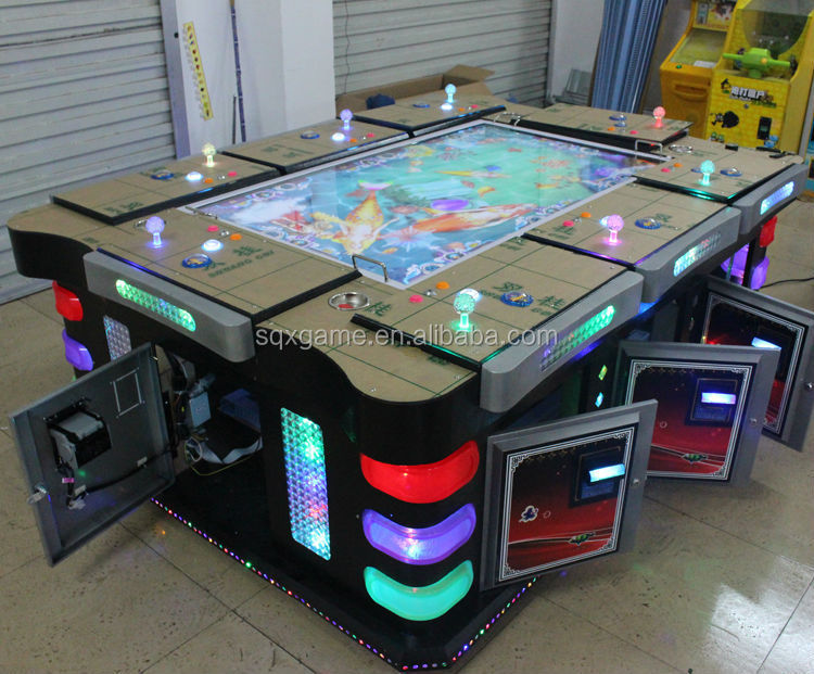 Hot selling professional top quality tropical fish-game machine made in China