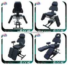 Hot sale Professional tattoo furniture hydraulic facial bed tattoo salon chair