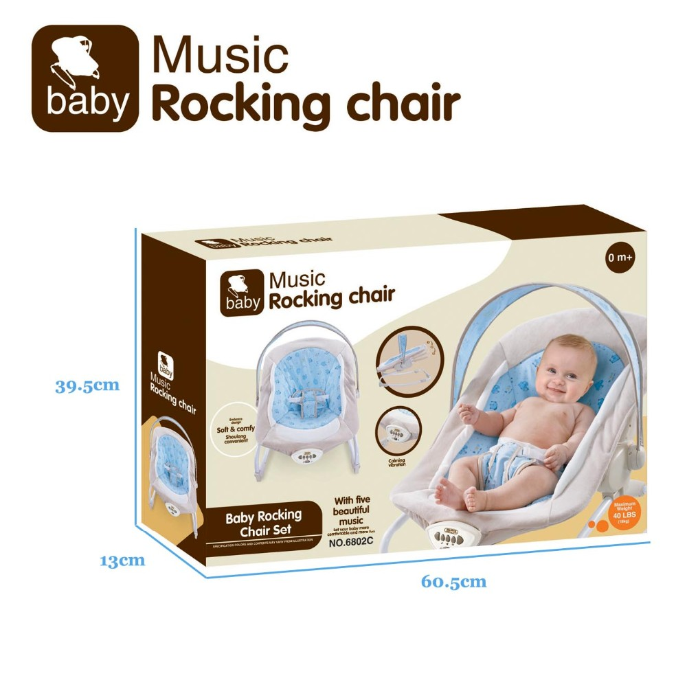 Baby swing vibration baby rocking chair for babies with songs
