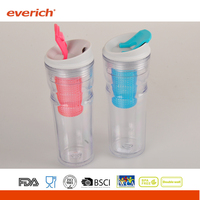 Everich 16OZ Double Wall Branded Plastic