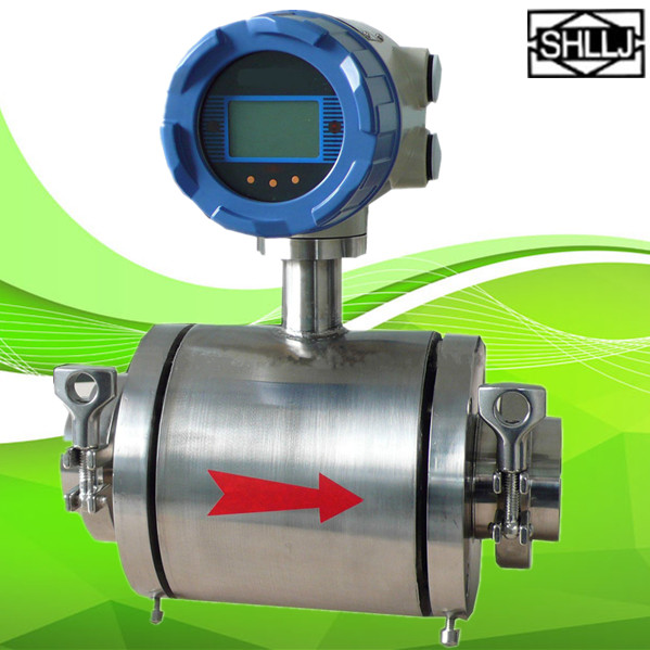 LD Electromagnetic flow meter Milk flow meter digital flow meter