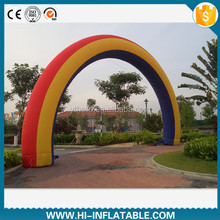 Outdoor cheap inflatable advertising archway, inflatable entrance archway for sale