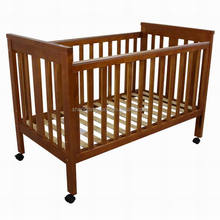Good quality assembled cheap solid wood baby crib baby bed baby furniture