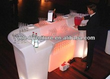 Led bar portátil/iluminado bar/utilizado muebles de bar