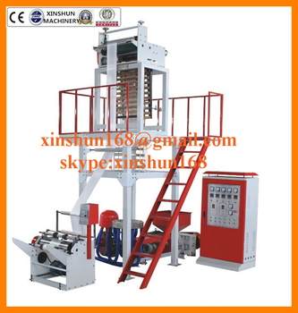 New Design for plastic film blowing machine,plastic film extruder,pe film blowing machine
