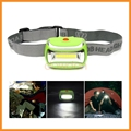 Power By 3 AAA Battery SOS 3 Mode Professional Outdoor Camping COB Headlamp