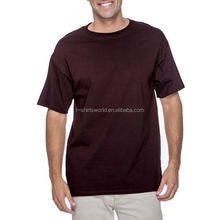 deep v neck long sleeve round collar short slleved men t shirts