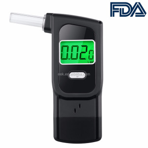 Alcohol Tester Green Backlit Breath Analyzer Portable High-Precision Breathalyzer with LCD Display