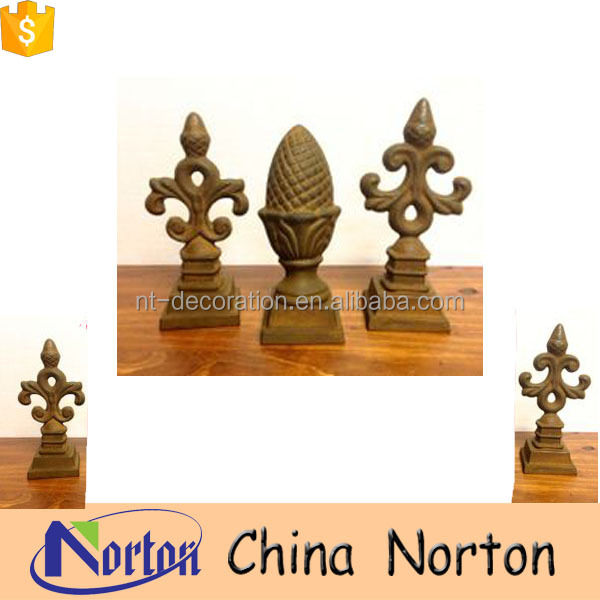 Antique casting iron fence finials accessory NTIRA-003Y