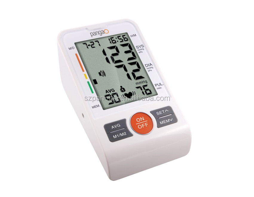 2016 New hot-selling tensiometro digital blood pressure meter with ISO13485 CE0413 certs