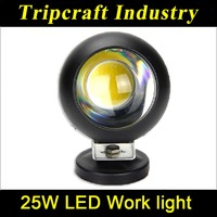 High powered 5 inch Led work lamp 25W LED WORK LIGHT round ,cheap goods hight quality Led Working Lights made in China