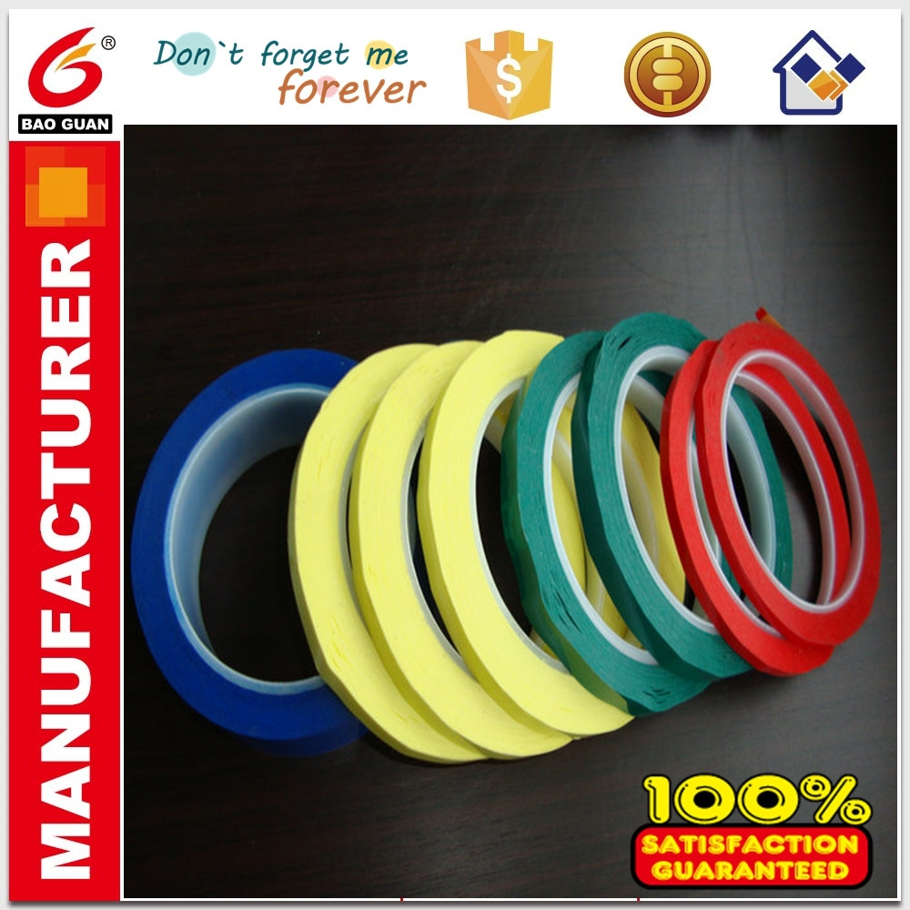 Colorful and Will not burn Mylar adhesive tape