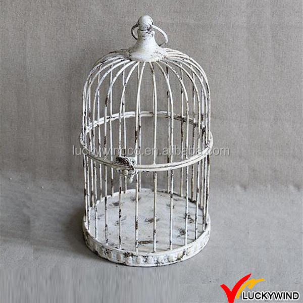 Wholesale Rustic White Small Decorative Bird Cages Wedding View Wholesale Decorative Bird Cages