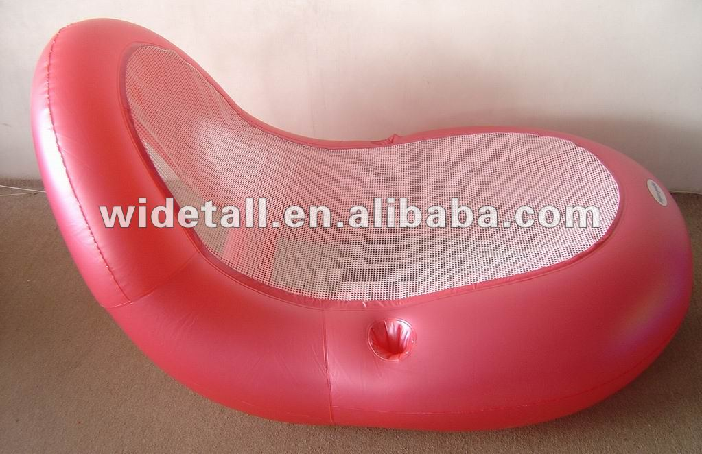 inflatable floating mat air mattress PVC air mat inflatable water bed inflatable water chair deck chair