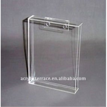 Clear Acrylic Wall Mount Sign Holder Lucite Wall Mount