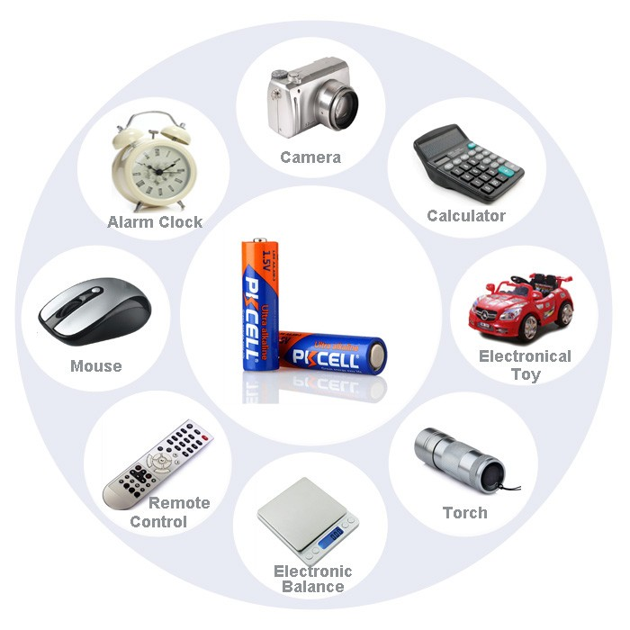 hot sale r03 battery size aaa battery from Pkcell