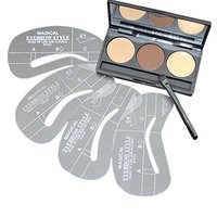 Makeup kits eyebrows powder 3 color with Highlighter and brush offer customzing for private logo